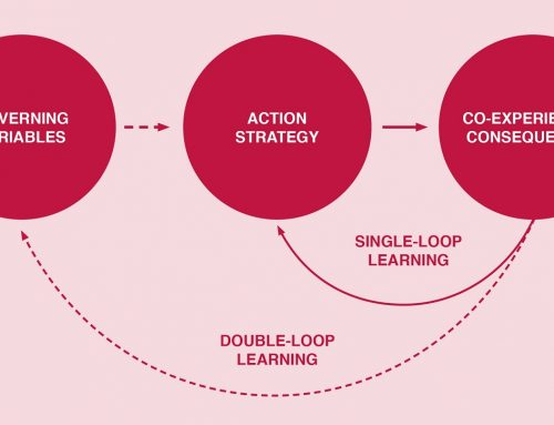 Improving strategic internal communications through double-loop learning