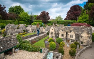 model village in the Cotswolds