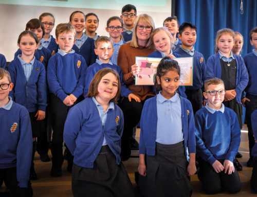 Celebrating a canine collaboration on World Book Day