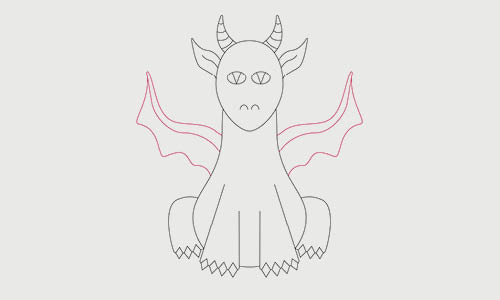 Keep the kids entertained. Draw your own dragon!