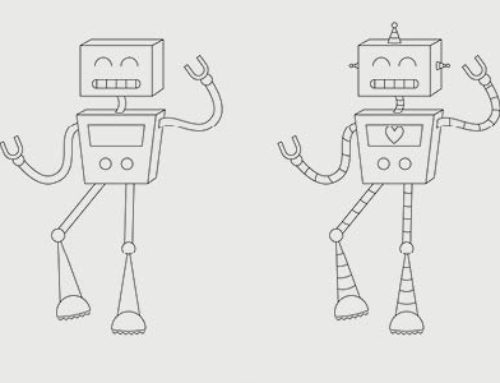 Looking for creative things to do at home? Draw your own robot!