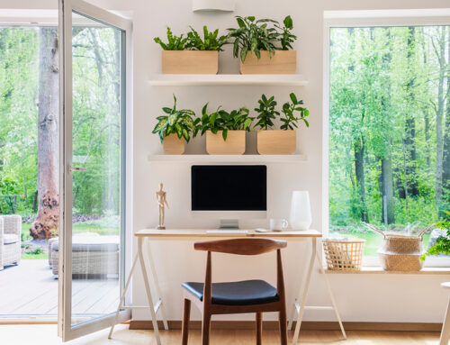 Carving out creative space at home