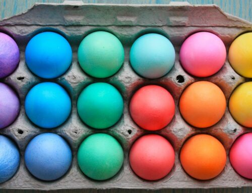 Colour yourself happy this Easter